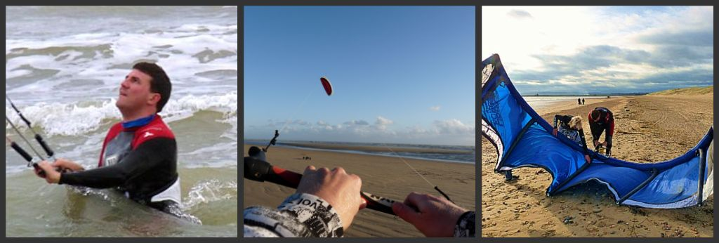 kitesurfing lesson and kiteboarding course 1 day