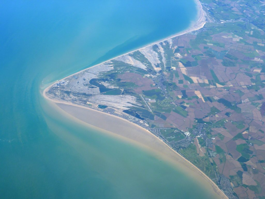 dungeness peninsula south east england