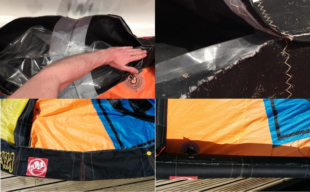 Leading Edge Kite Repair