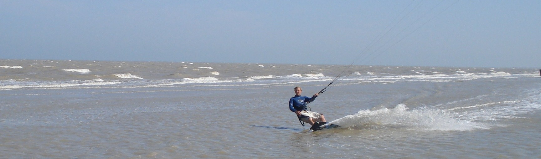 Kitesurfing South Coast
