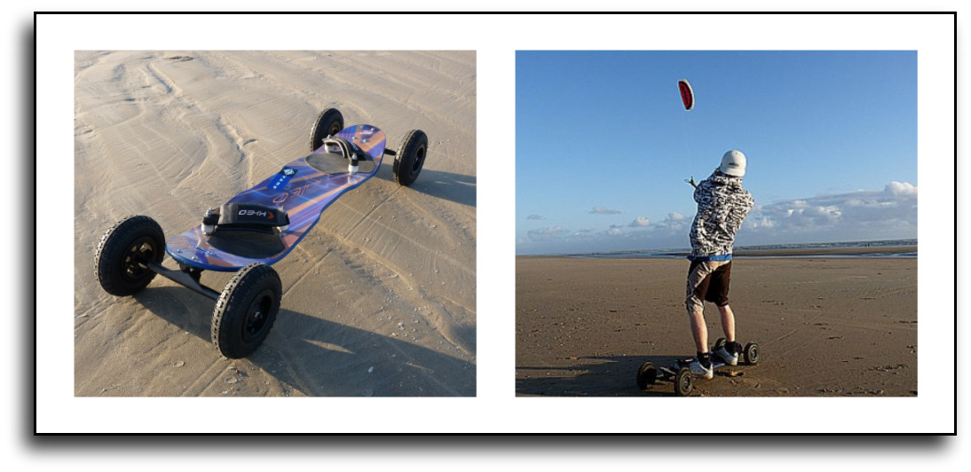 landboard/ mountain board lessons with the kitesurf centre