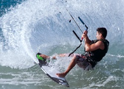 3 day kitesurfing course - carve turn