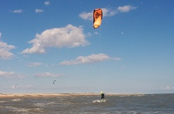 3 day kitesurfing lesson - controlled rides