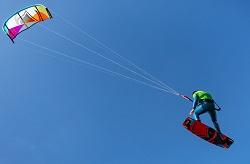 5 day kitesurfing - basic jumps