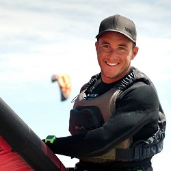 Ben Clarke Kitesurfing Instructor