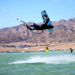 Kitesurfing instructor