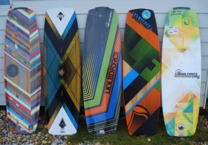 Liquid Force 2013 kite boards