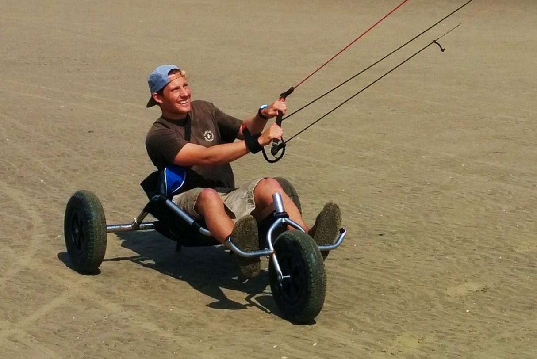 kite buggy private lesson