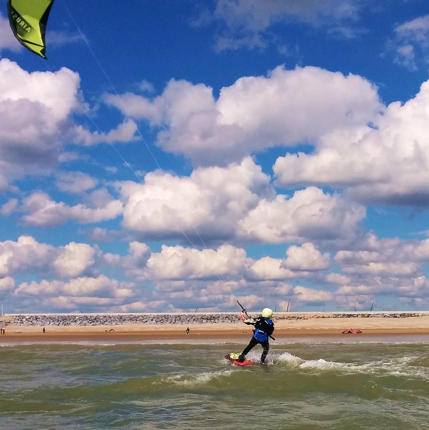kitesurfing board lesson gift voucher
