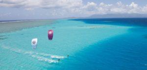 Kitesurfing at Camber Sands