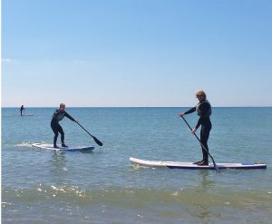 stand up paddle board lesson