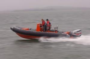 Avon searider 5.4m safety boat