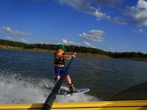 Wakeboarding boom