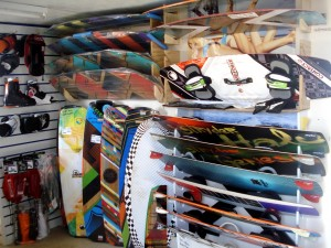 Liquid Force, Shinn, Airush, Best and Stryder kiteboards