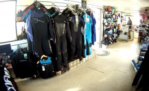 Mystic wetsuits, poncho, impact vest and rash vests