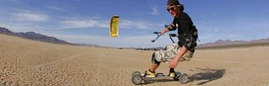 kite landboarding combo