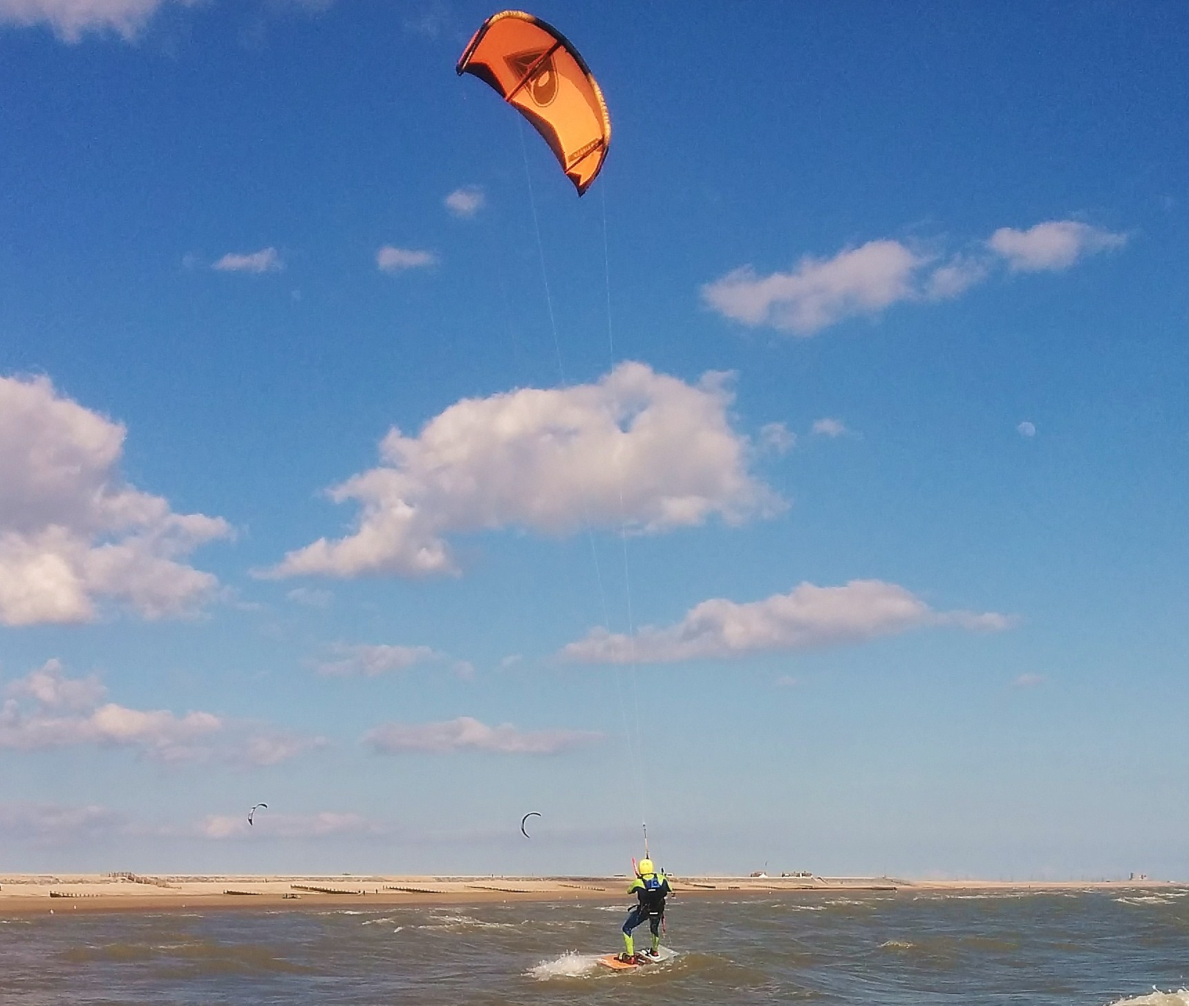 2 day kitesurfinng lesson gift voucher
