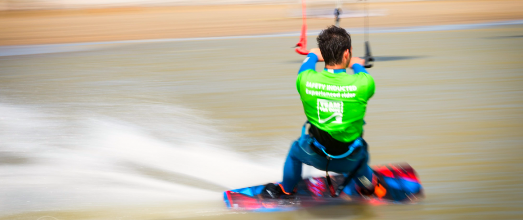 Advanced kitesurfing lessons at Camber Sands