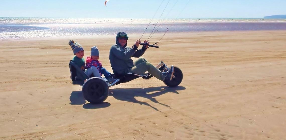kite buggy 2 man
