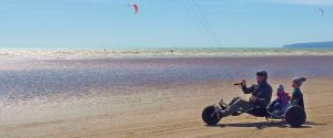 kite buggy 2 seater