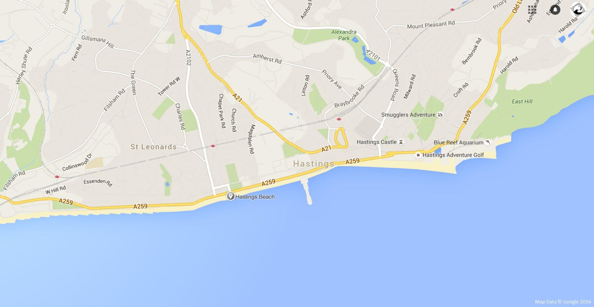 Hastingsmap
