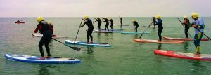 group day sup lesson slider