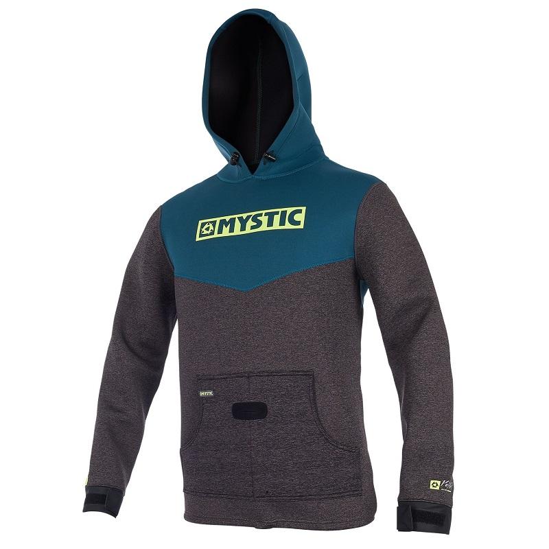 Mystic voltage sweat jacket teal