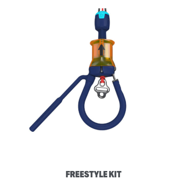 2019 Duotone Chicken Loop Freestyle Kit