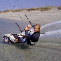 Board Control Kitesurfing Lesson