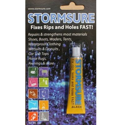 Stormsure Wetsuit Repair Glue - Black