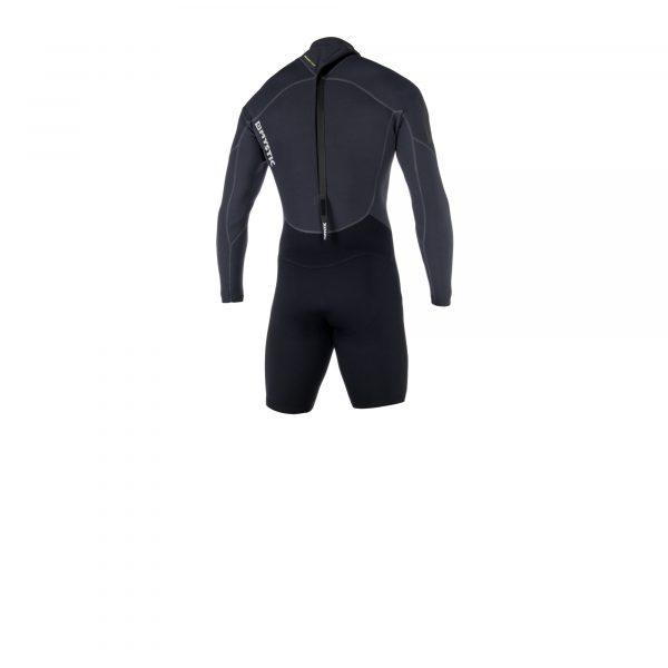 2019 Mystic Brand 3/2 back-zip longarm shorty men wetsuit