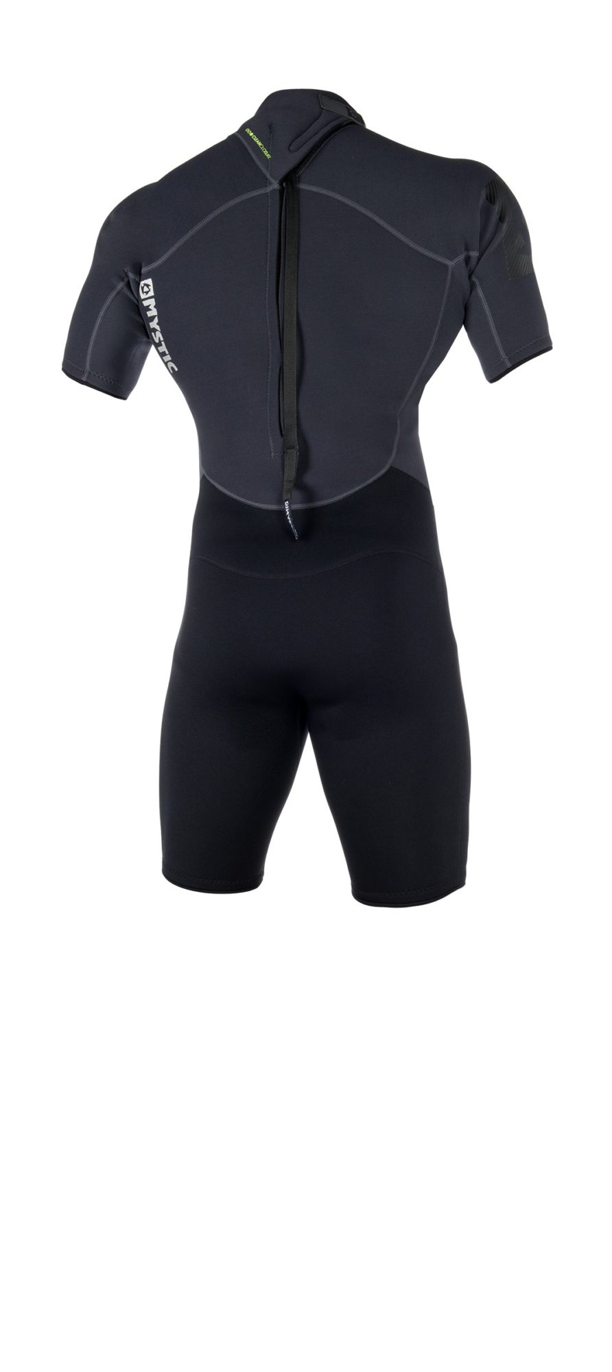 Mystic Mens Brand 3//2mm Back Zip Shorty Wetsuit Teal 180055