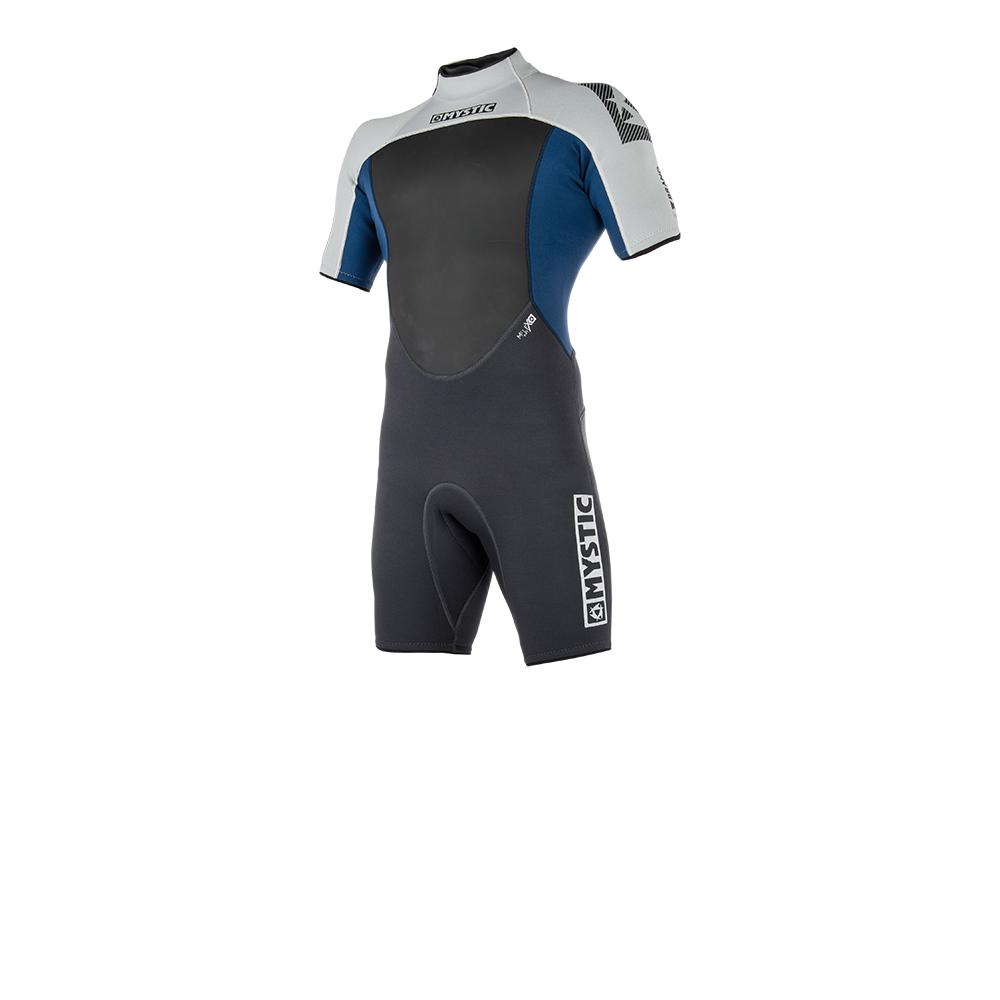 2019 Mystic Brand Mens 3/2 Shorty BackZip Wetsuit