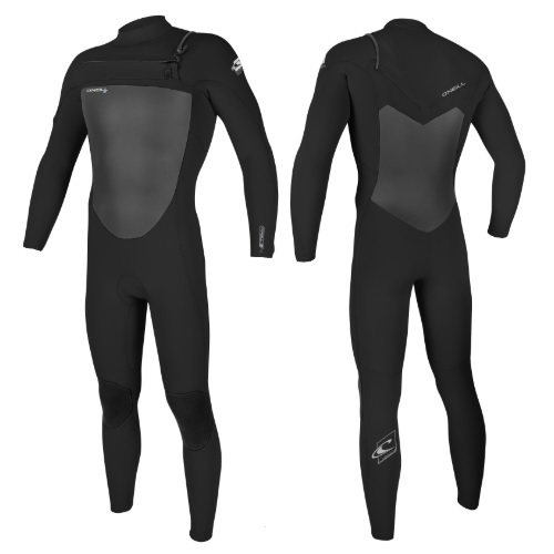 2020 O'Neill Epic 5/4 Chest Zip Black Black