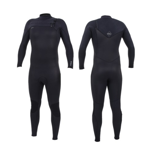 2020 O'Neill Hyperfreak 4/3 Chest Zip Black Black