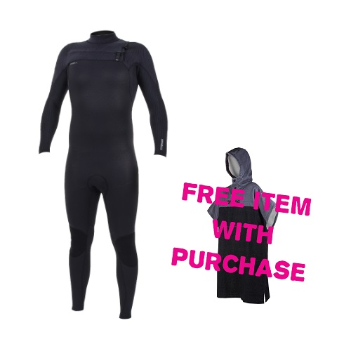 2020 O'Neill Hyperfreak 4/3 Chest Zip Free Poncho