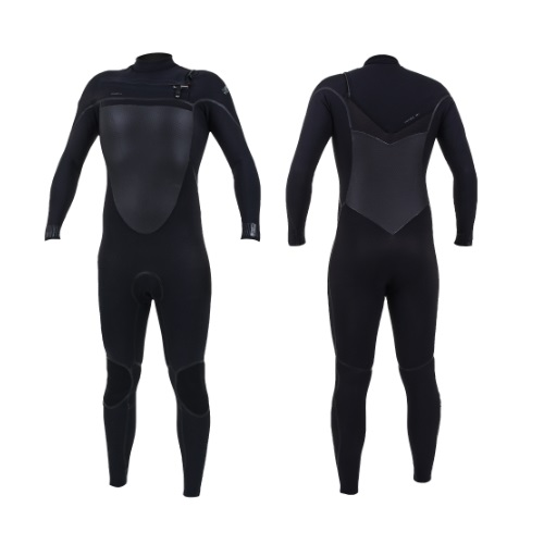 2020 O'Neill Psycho Tech 4/3 Chest Zip Black Black