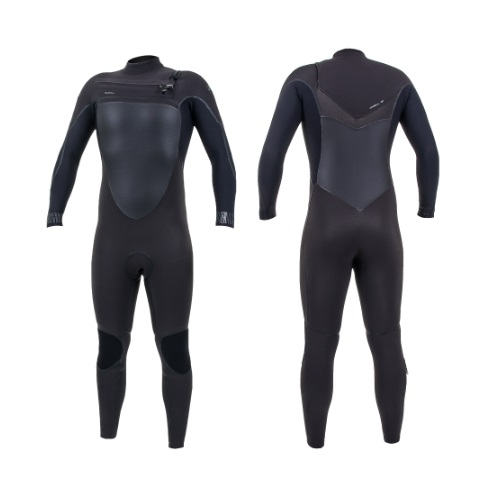 2020 O'Neill Psycho Tech 4/3 Chest Zip Raven Black