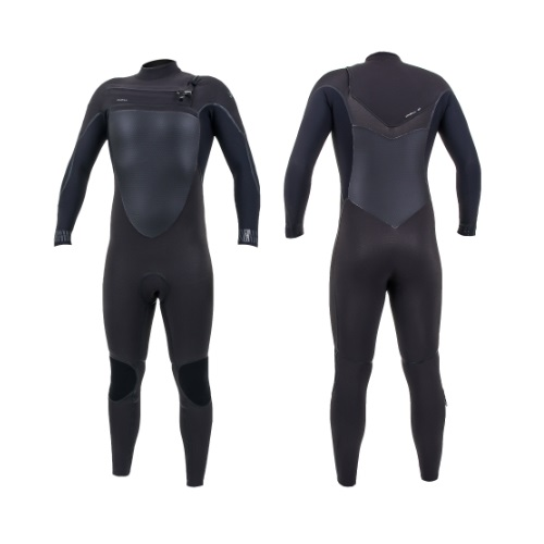 2020 O'Neill Psycho Tech 5/4 Chest Zip Raven Black