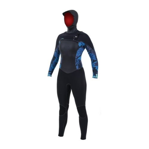 O'Neill Psycho Tech 6 4 Chest Zip With Wood Womens Wetsuit 2020