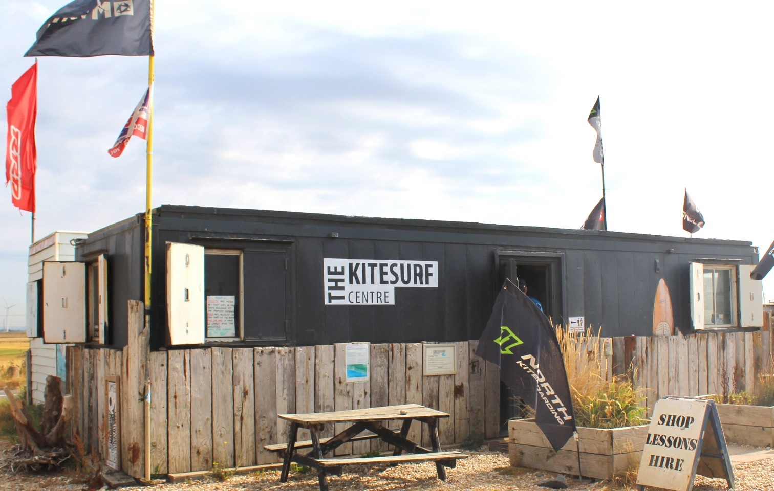 kitesurfing cventre near London