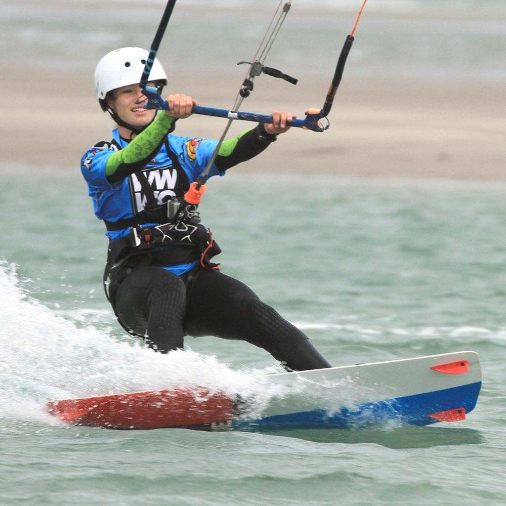 5 day kitesurfing course riding