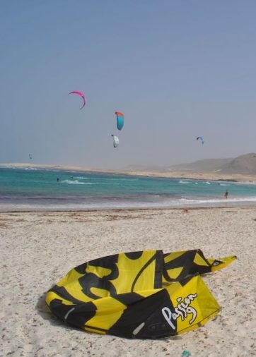 how to self land kitesurfing solo