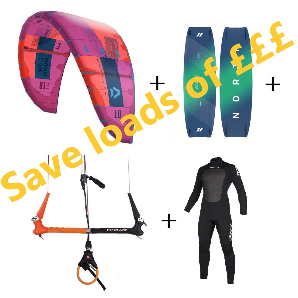 custom kitesurf package deals