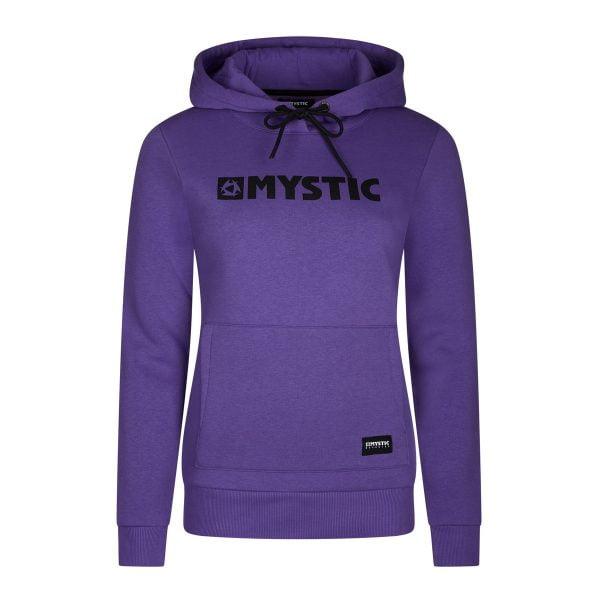 Mystic Brand Hooded Sweat Purple