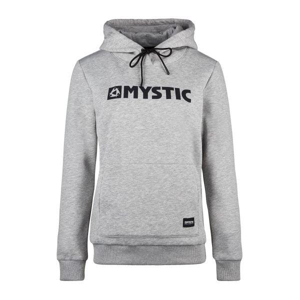 Mystic Brand Hooded Sweat Grey