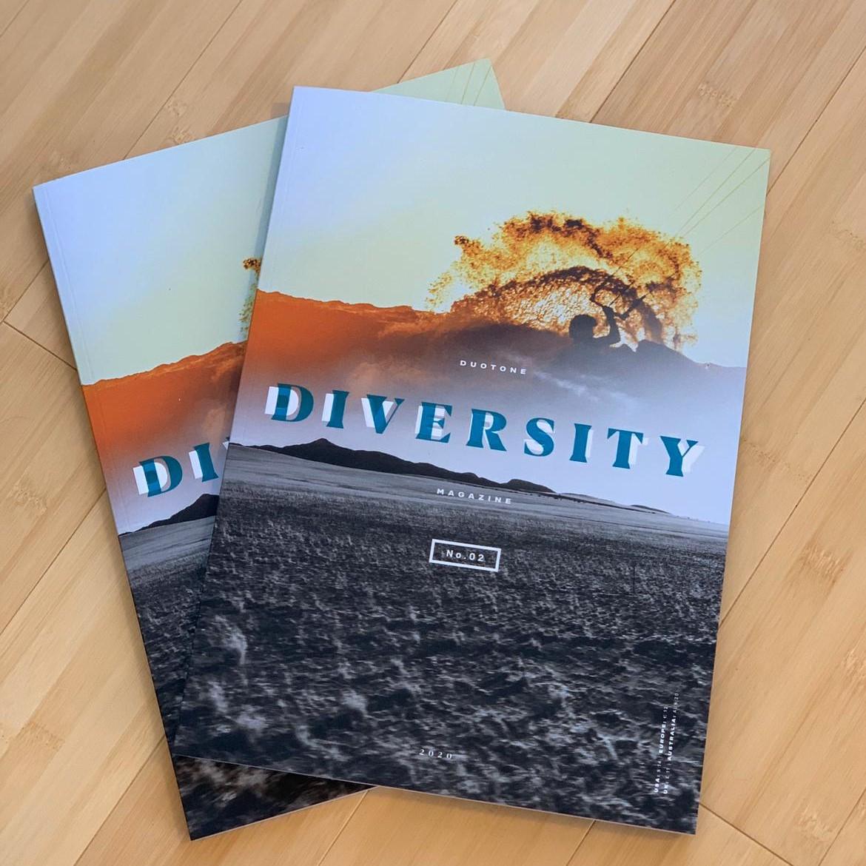 Duotone Diversity Magazine