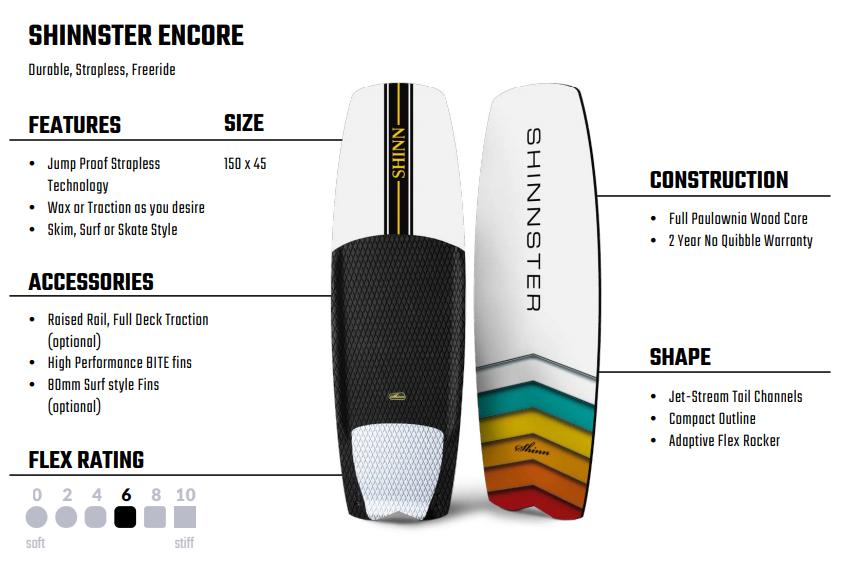 Shinnster Encore 2020 Spec