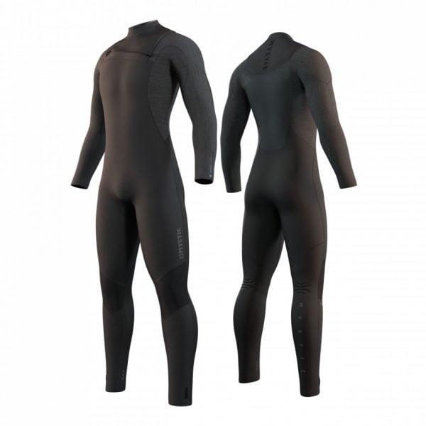 Majestic 4/3mm Frontzip wetsuit 2022 black