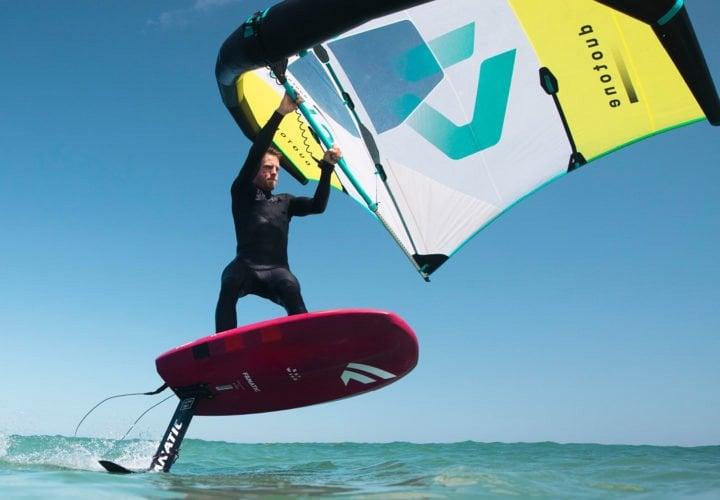 wingsurfing
